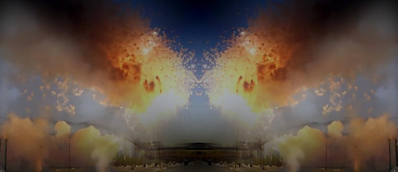 Daylight fireworks show 'Mascletà Scheveningen' to open TodaysArt 2014